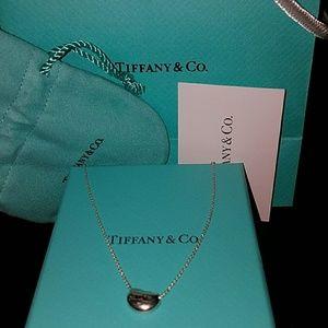 Tiffany & Co. Peretti Mini Bean Pendant w/ Chain